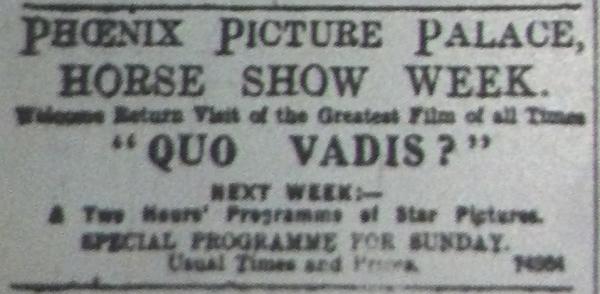 Quo Vadis Phoenix ET 9 Aug 1913