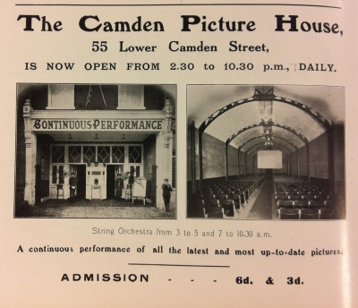 Camden PH Irish Life Dec 1912