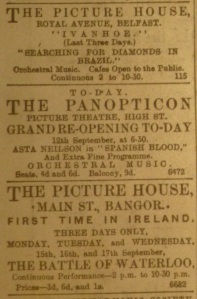 Panopticon Reopens Sep 1913
