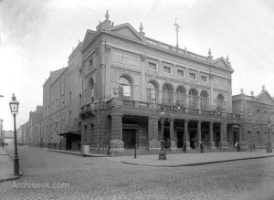 Theatre Royal, Dublin. http://archiseek.com/2012/1897-theatre-royal-hawkins-st-dublin/#.VCrJYBYg9OI