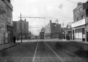 The Picturedrome is visible on the right of this photograph of Dublin's Harcourt Road. https://www.flickr.com/photos/nlireland/7628356832/