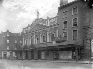 Tivoli Theatre of Varieties, Burgh Quay, Dublin, May 1915. https://www.flickr.com/photos/nlireland/12082817723/