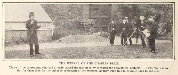 Chaplin Lookalike Winner Film Fun Jan 1916