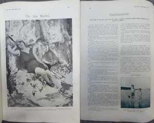 """On the Rocks"" and ""Disillusioned,"" Irish Life 9 Aug. 1912: 791 and 16 Aug. 1912: 840."