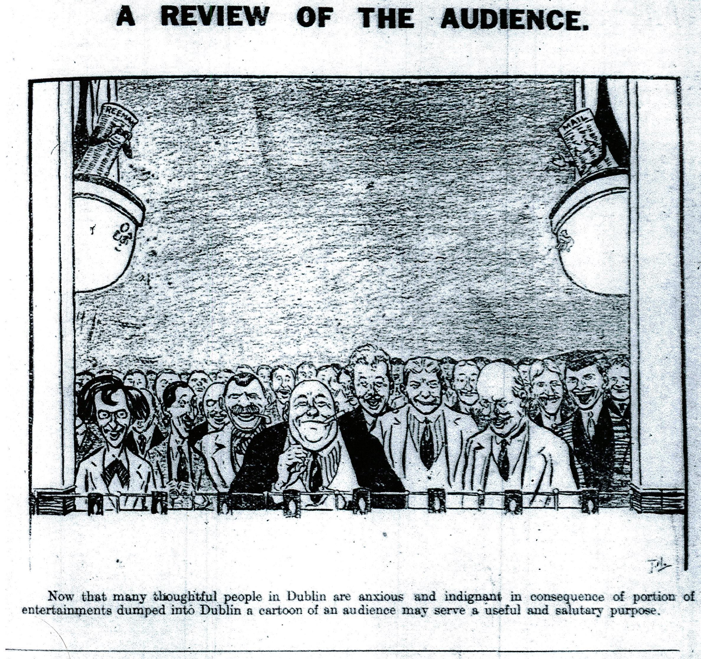 protests   early irish cinema