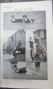 """Summer at Last!"" Irish LIfe 19 Jul. 1912: 669."
