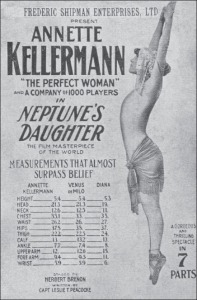 Swimmer Annette Kellerman was considered the "
