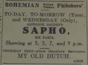 Evening Telegraph, 23 Aug. 1915: 1.