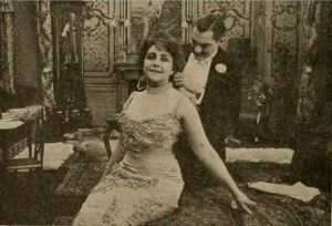 Catherine Countiss and Lionel Barrymore in A Modern Magdalen. Moving Picture World 13 Mar. 1915: 1614