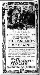 Elaine Sackville 28 Oct 1915