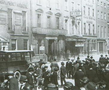 Carlton Cinema, c. 1920. Source: Art Deco in Dublin.