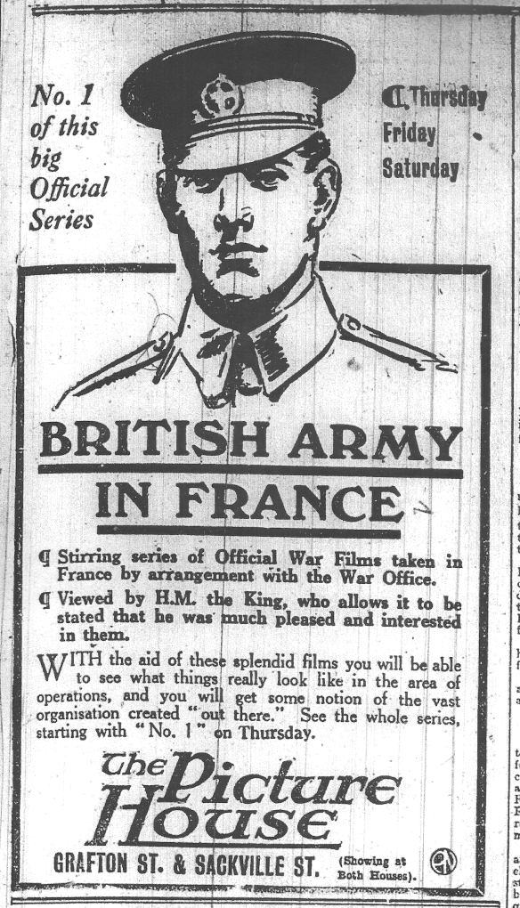 British Army DEM 20 Jan 1916