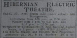 Hibernian ad ET 29 Jan 1916p1