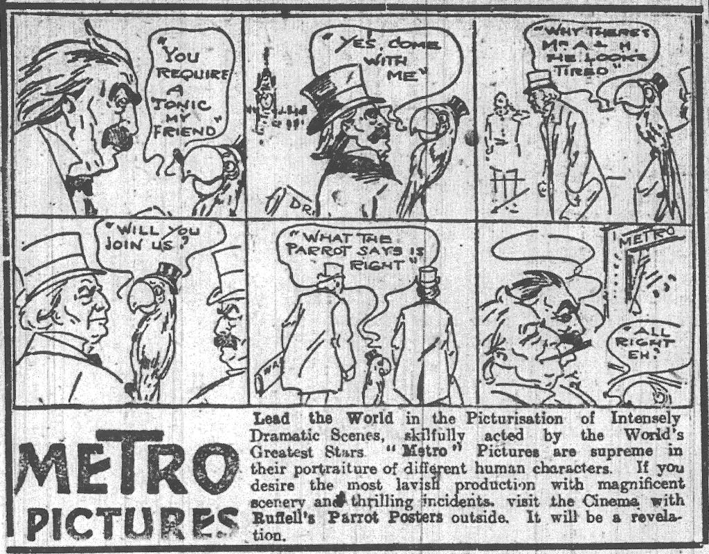 Metro ad DEM 3 Jan 1916