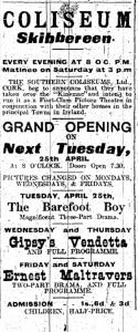 Skibbereen Coliseum SS 22 Apr 1916