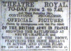 Dublin Evening Mail 10 May 1916: 2.
