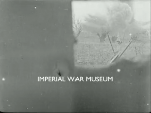 Framegrab from Destruction of a German Blockhouse by 9.2 Howitzer; Impeial War Museum.