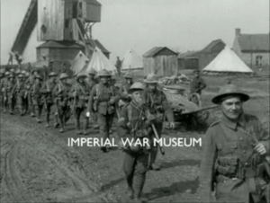 Framegrab from The Fight at St. Eloi; Imperial War Museums.