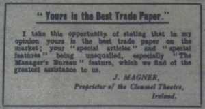 """Trade Topics."" Bioscope 1 Jun. 1916: 958"