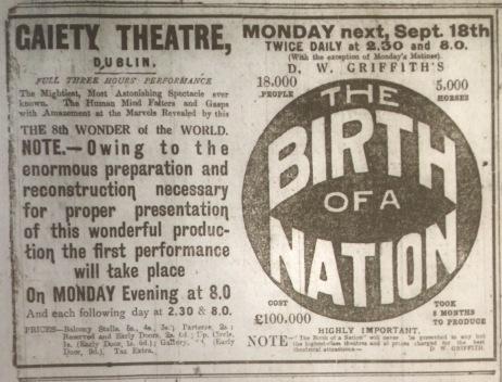 Dublin Evening Mail 16 September 1916: 2.