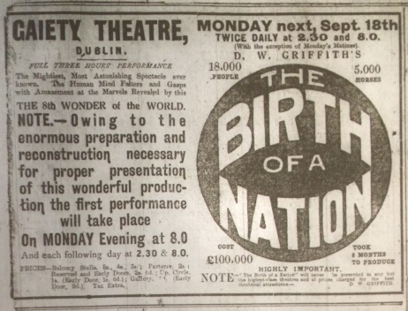 Dublin Evening Mail 16 September 1916: 2.