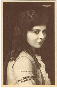 Lottie Pickford in The Diamond from the Sky (US: American, 1915)