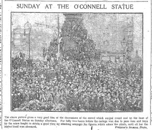 Ashe Funeral O'Connell Statue FJ 2 Oct 1917p6