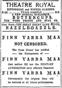 Finn Varra Maa censored EH 11 Jan 1918p2