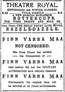 Finn Varra Maa censored EH 11 Jan 1918p2