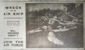 Aug 29 1918 DEM Airship