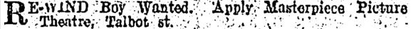 rewind boy classified ad it 6 jan 1919p1