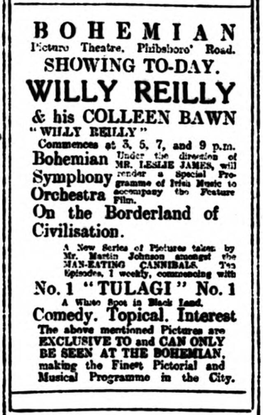 Willy Reilly Boh ET 19 Apr 1920p2